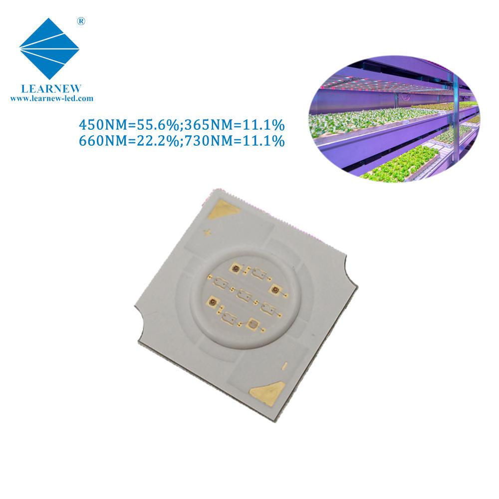 shenzhen custom high effciency 4w 14*14mm led plant grow light cob chip
