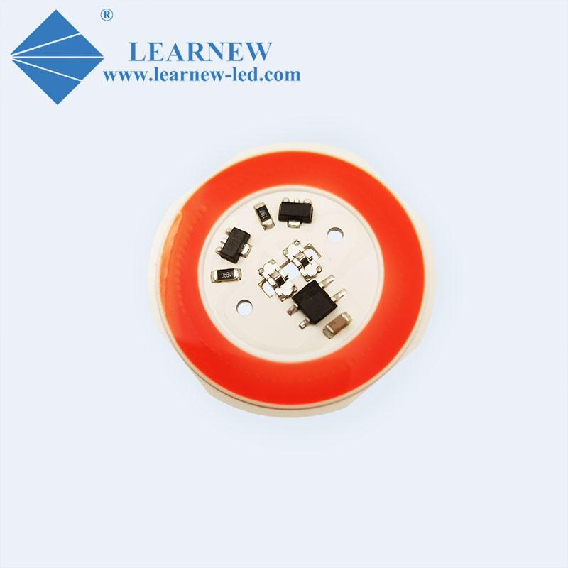 AC COB LED R38mm 380-780nm flip chip ac 220v 10w