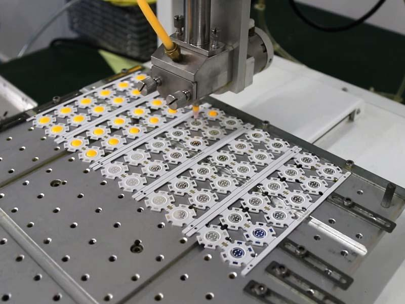 chip led cob 20w Gel Injection