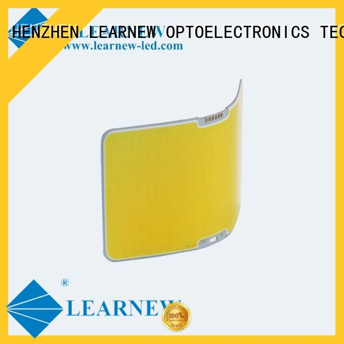 Learnew long lifespan flip chip phosphor coating for spotlight