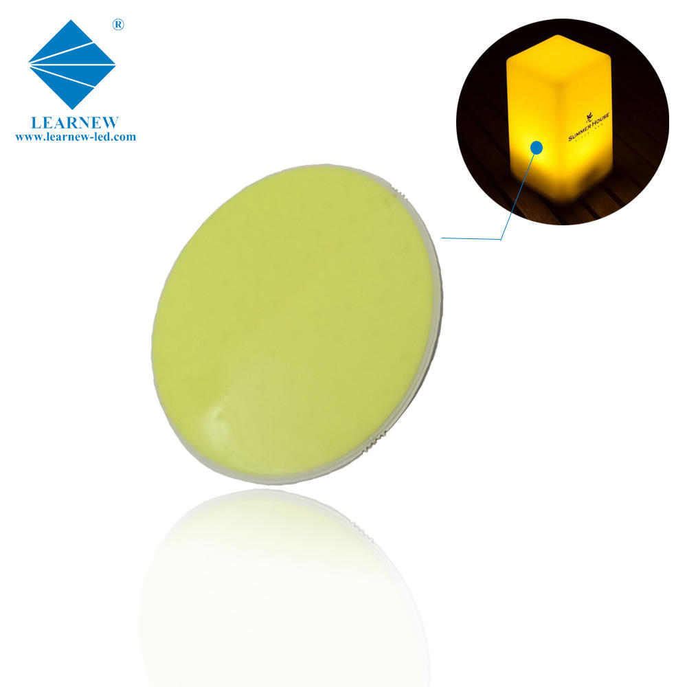 flip chip technology flexible view angle 9w R50mm size 3.0-3.4v green flexible led cob for led magic light