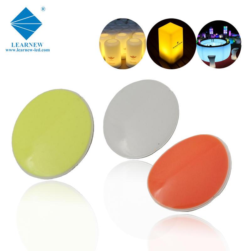 colorable flip chip technology design 9watt flexible led cob 2700-6500k for led caution light
