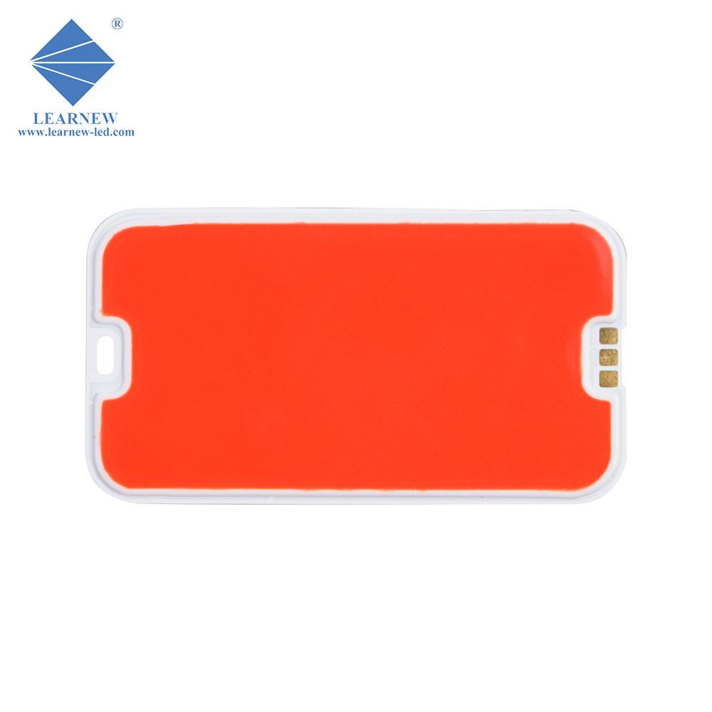 shenzhen manufacturer 2.5w red 620-630nm flip chip flexible led cob