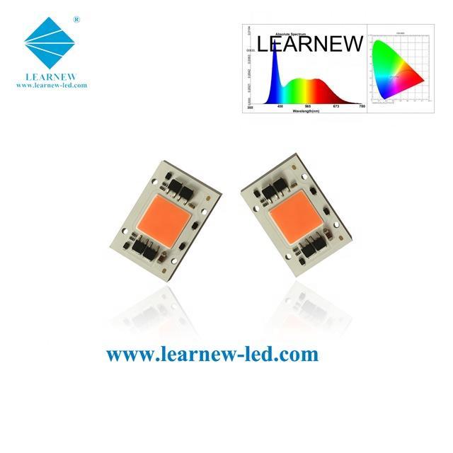 ac 220v full spectrum cob led grow light 50w
