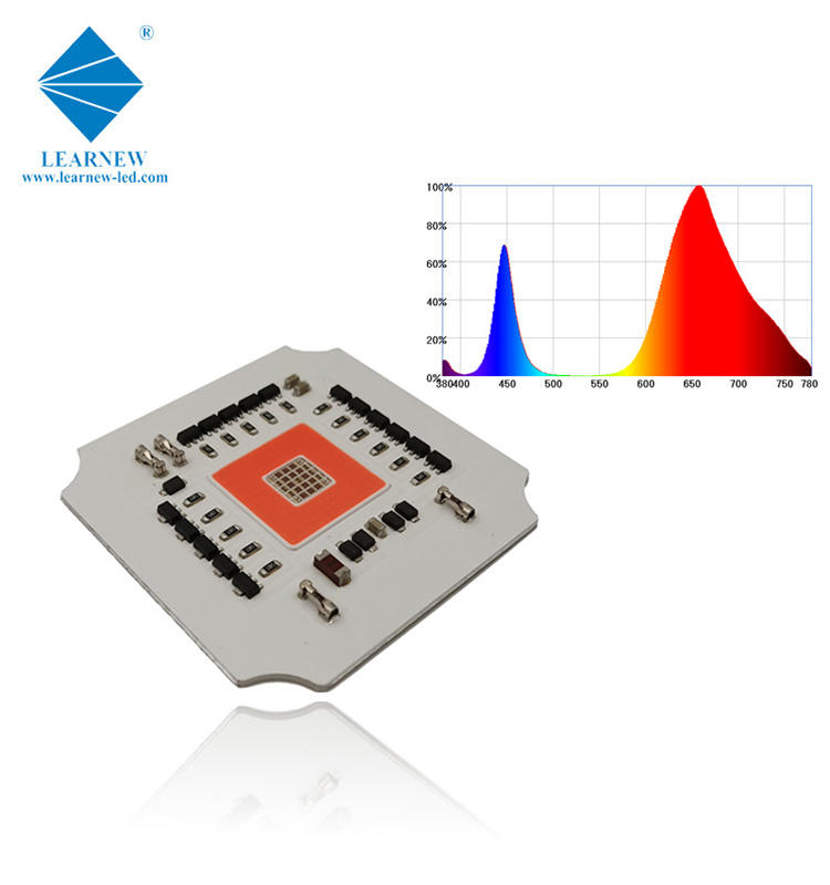 full spectrum grow cob led chips 660nm 730nm 365nm 100w grow led cob for farms and grow light market