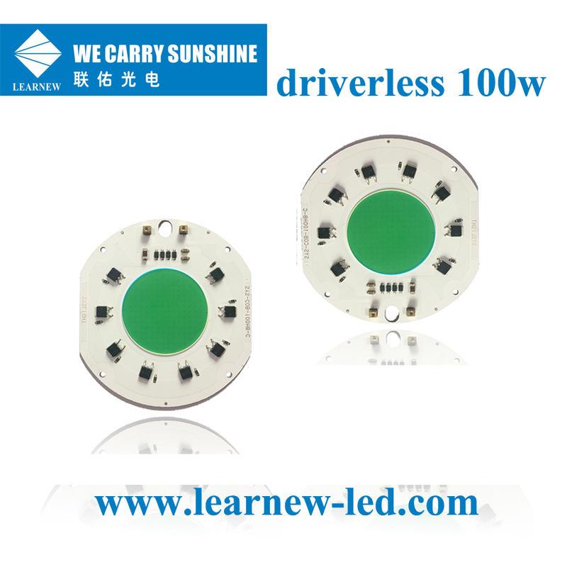 china supplier 100w full spectrum ac220v±10v grow led cob