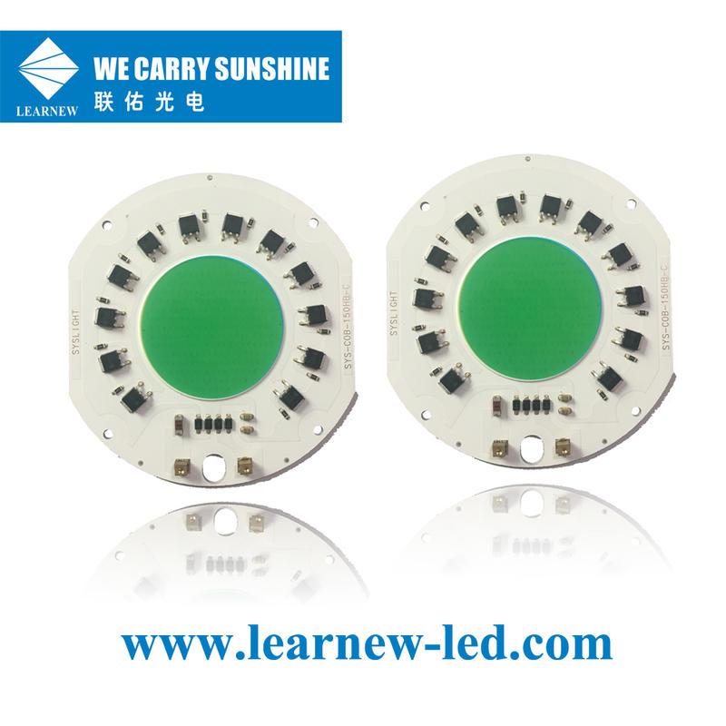 china supplier full spectrum 380-780nm 150W driverless ac220V±10V cob led grow light chip