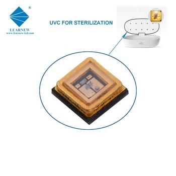 china manufacturer uvc sterilization cob 1w 3535 395-405nm smd led chip for ICU hospital and washing machines