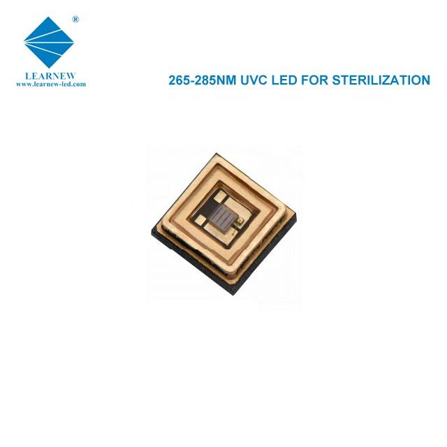 shenzhen hot sales uvc cob 1w 3535 265-285nm smd led chip for ICU hospital and sterilization